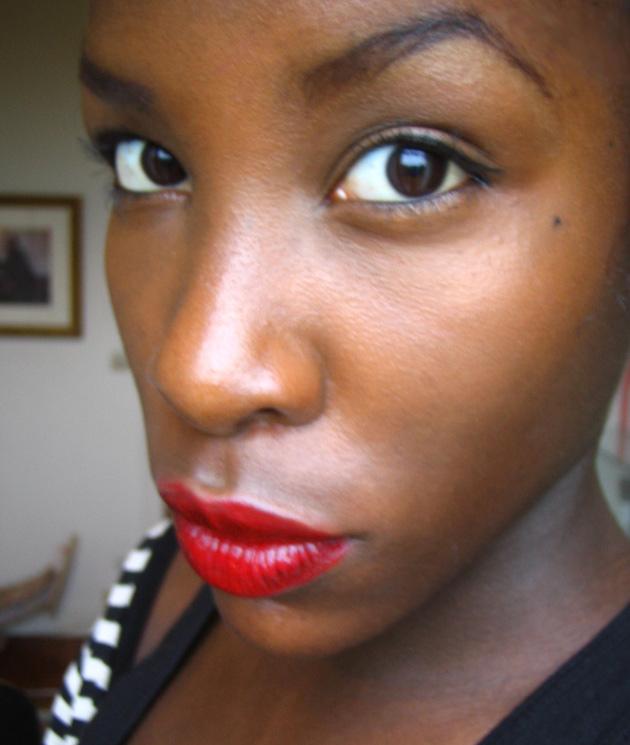 Michelle, beauté noire de Paris