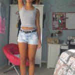 Taïss, jeune guadeloupéenne veut s'amuser à Pointe-à-Pître